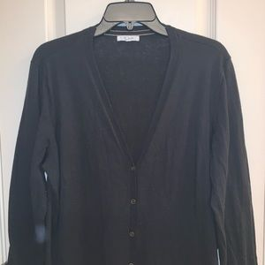 Maurice's Button Down Black Cardigan Sz 2X